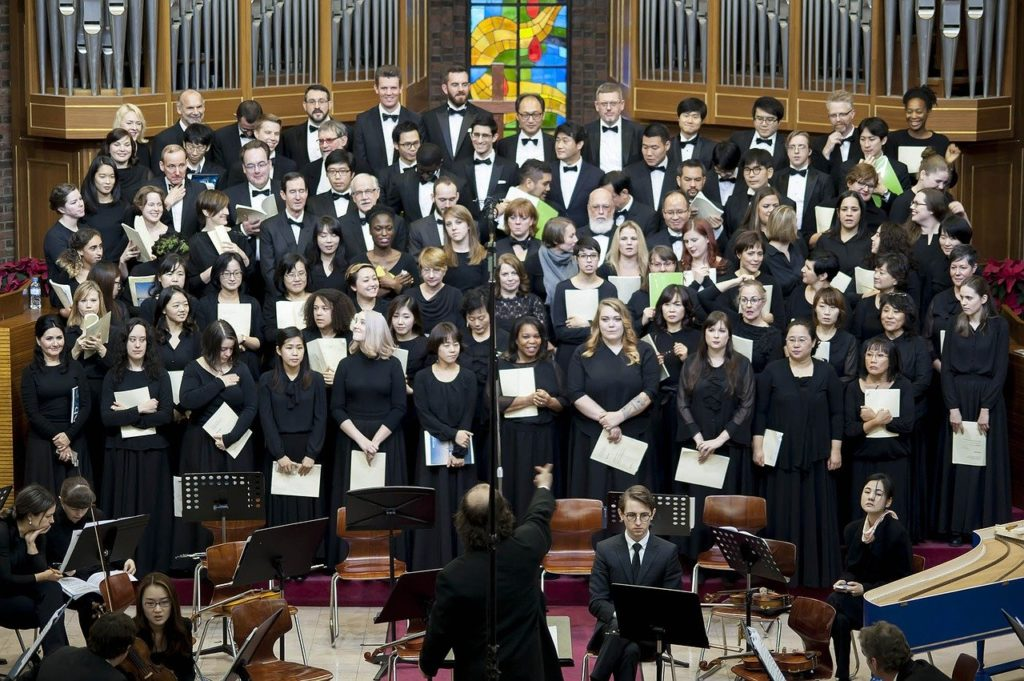 choir, music, conductor