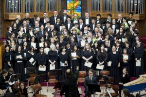 choir, music, conductor